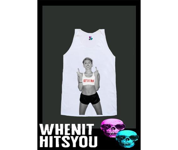 Miley Cyrus Shirt Twerk Shirt Dope Shirt Swag Shirt Tshirt Singlet Vest R10445 Tank Top - Tanks Tops & Camis   RebelsMarket