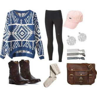 sweater aztec