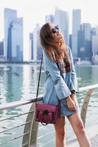 style scrapbook blogger dress bag shoes sunglasses