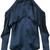 Cushnie Et Ochs - Florence cold-shoulder blouse - women - Silk - 4, Blue, Silk
