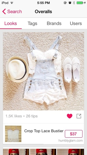 romper light blue overalls cute