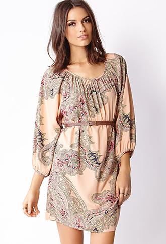 La Vie Boheme Dress with Belt | FOREVER21 - 2000066418