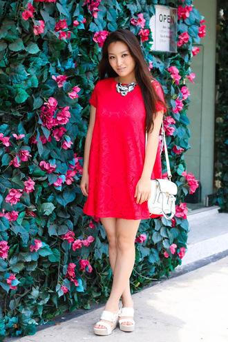 sensible stylista blogger dress jewels bag shoes