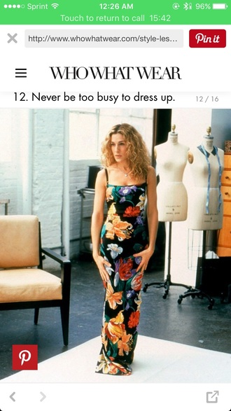 dress long dress black dress dolce and gabbana sex and the city maxi dress sexy dress sarah jessica parker