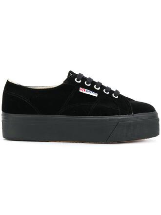women sneakers black velvet shoes