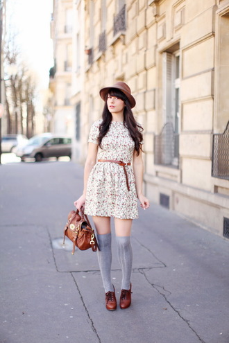 shoes dress bag hat the cherry blossom girl