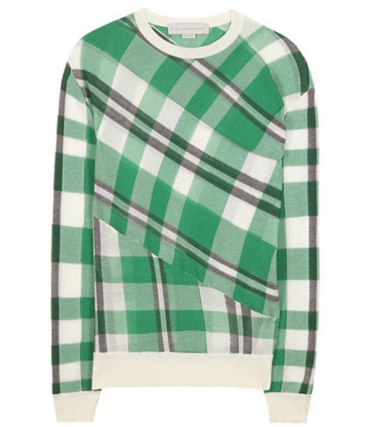Stella McCartney sweater cotton green