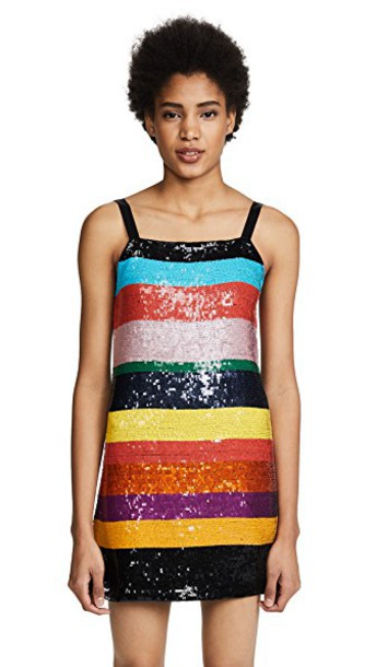 alice + olivia dress sequin dress