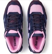 shoes,pink shoes,raf simons,nb,pastel sneakers