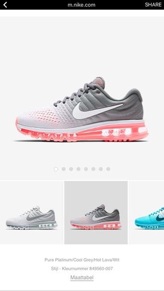 shoes 2017 nike air max cheap air max 2017 white red pink