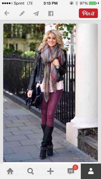 jeans skinny jeans scarf