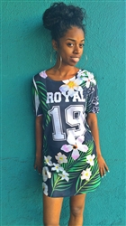 Royal 19 Jersey Dress