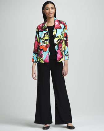 Patterson J. Kincaid Ricci Open Sequined Blazer - Neiman Marcus Last Call