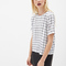 Boxy windowpane top | forever 21 canada
