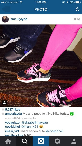 shoes tropical pink black nike shoes nike air nike running shoes air max pink nike air max