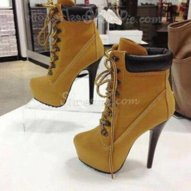 high heel timberland boots beyonce startorganic