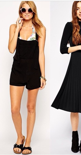jumpsuit black summer outfits