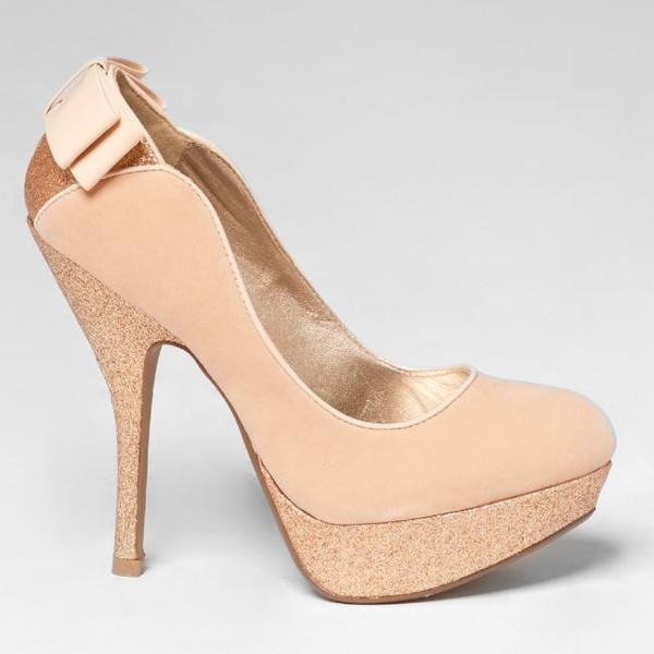 shoes nude nude heels glitter shoes glitter