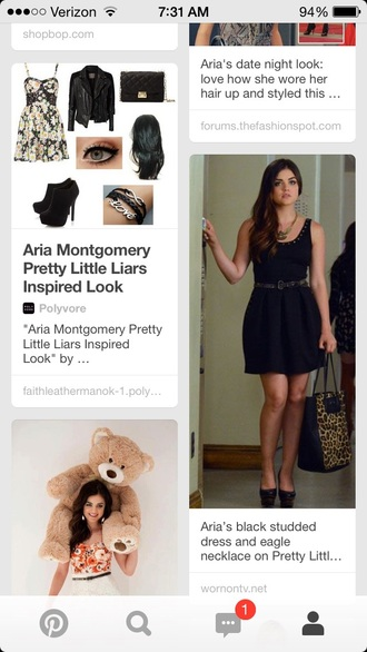 dress heels black heels black dress lucy hale pretty little liars short dress