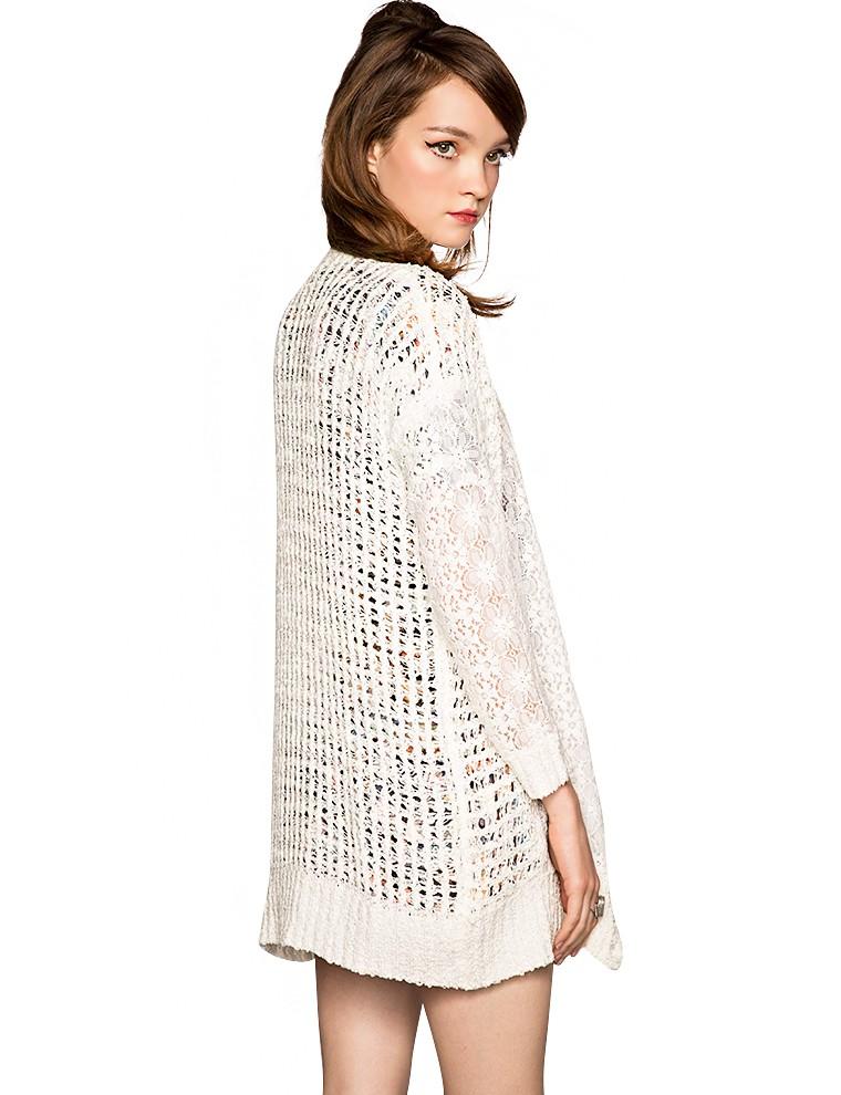 Fall crochet lace cardigans