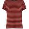 Striped boyfriend-fit cotton t-shirt | r13 | matchesfashion.com uk