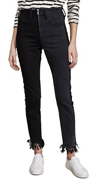 jeans zip black