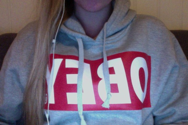 sweater obey obey obey sweatshirt