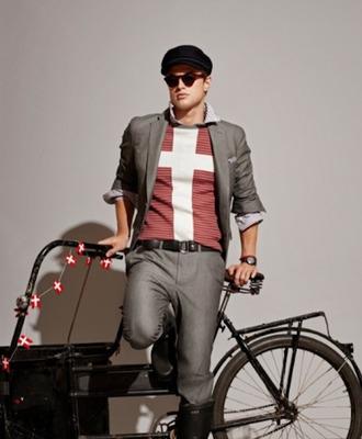 t-shirt cross hipster menswear