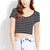 Everyday Striped Crop Top | FOREVER 21 - 2000109719