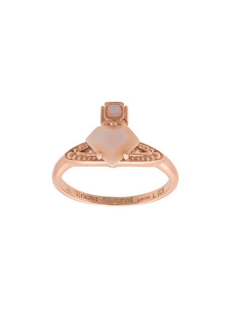 Vivienne Westwood rose gold rose women ring gold silver purple pink jewels