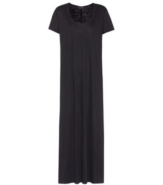 The Row Maxi dress in black