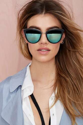 sunglasses nastygal cat eye summer outfits style fashion like cool vouge couture