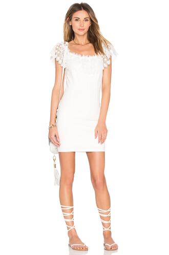 dress bodycon bodycon dress white