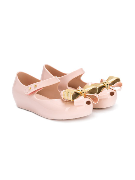 MINI MELISSA bow nude shoes
