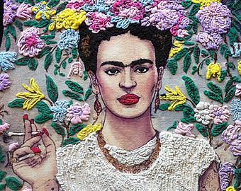 frida kahlo tshirt sur Etsy, la plateforme de vente internationale du fait main et du vintage.