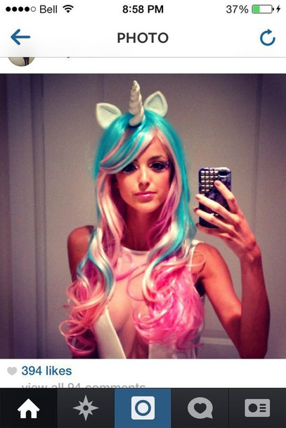hair accessory costume unicorn headpiece unicorn