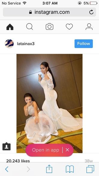 dress white dress crochet prom dress