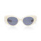 M'o exclusive poms & pared acetate cat-eye sunglasses | moda operandi