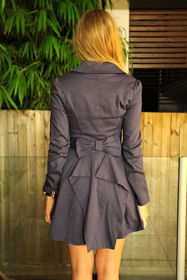 Adorable jacket.   Material girl
