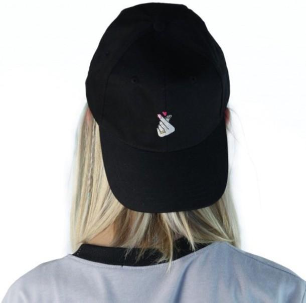 hat girl girly girly wishlist black black hat