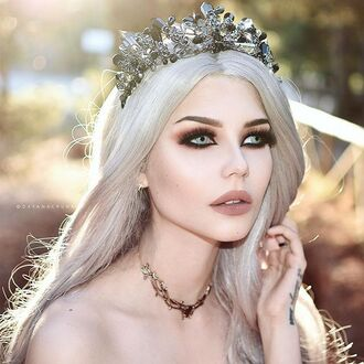 jewels shop dixi skadi choker necklace necklace black pearl boho bohemian grunge goth