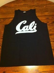 Cali tank black