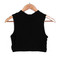 Race neck crop top – outfit made