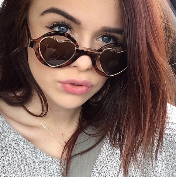 sunglasses retro heart round round sunglasses heart sunglasses acacia clark acaciabrinley acacia clark plastic brown acacia clark heart sunglasses brown sunglasses