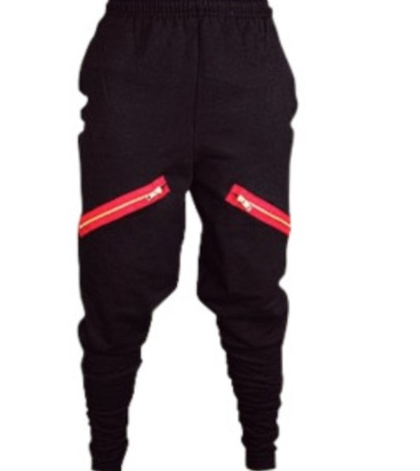 pants clothes harem pants black red thefooo black black chachimomma harem leggings cacchi pant $45