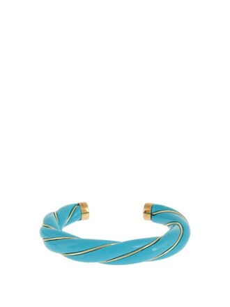 gold blue jewels