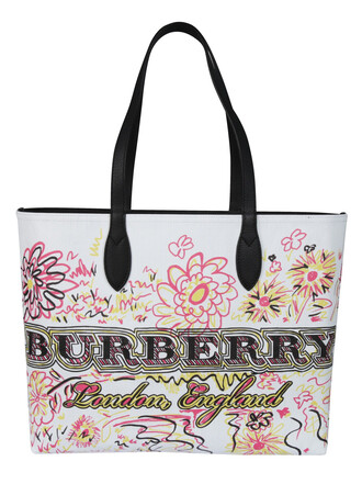 bag printed bag white