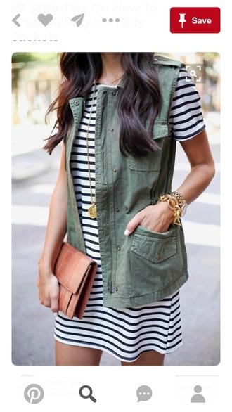 jacket vest utility cargo pants green olive green vest olive green