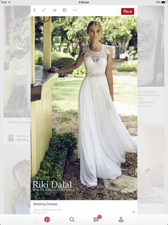 dress wedding dress white dress formal dress sparkly dress