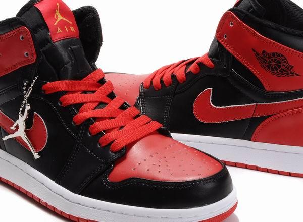 Men's Air Jordan Alpha 1 High - Red Black [Jordan1-1001] - $69.00 : Store Title, Site Tagline